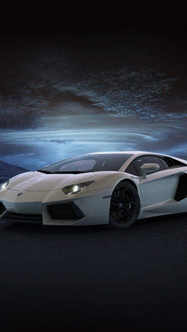 lamborghini-car-exotic-blue-art-iphone-5