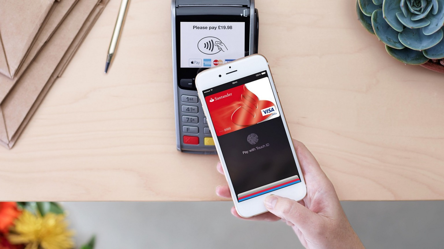apple pay Apple pay will be up and running monday afternoon.