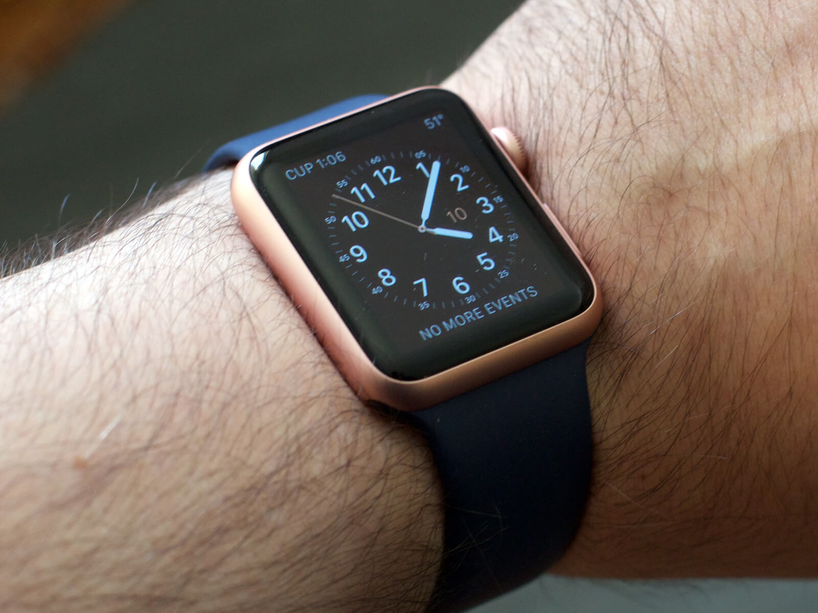 Apple Watch Sport Midnight Blue Gold Remember The Titans Movie Smart 42mm Series 1 Rose Aluminum